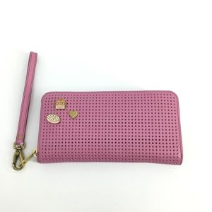 New Fossil Emma RFID Wallet Pink Clutch